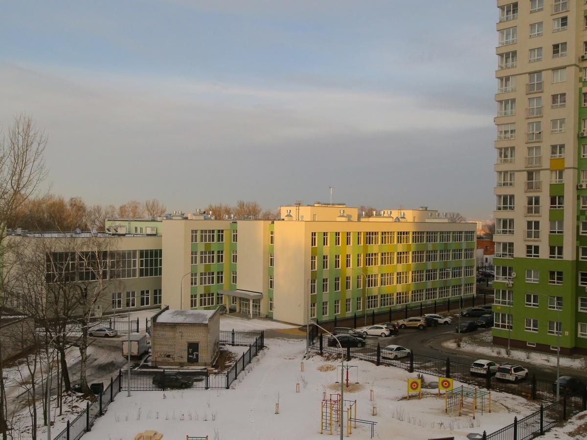 """Строительство школы в ЖК """"Гагаринские высоты"""" завершено - фото 1"""
