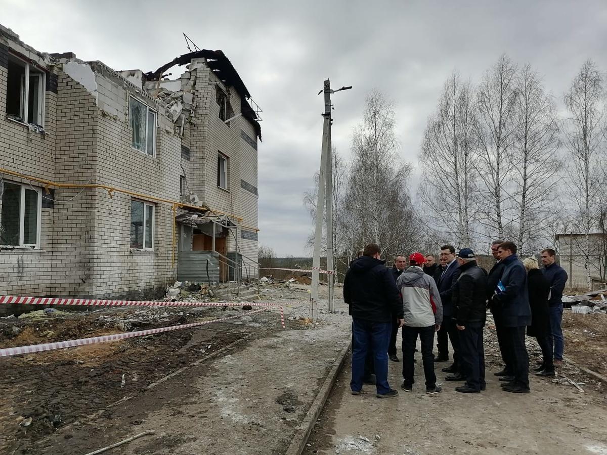 Пострадавший от взрыва газа дом в Дальнеконстантиновском районе восстановлению не подлежит - фото 1