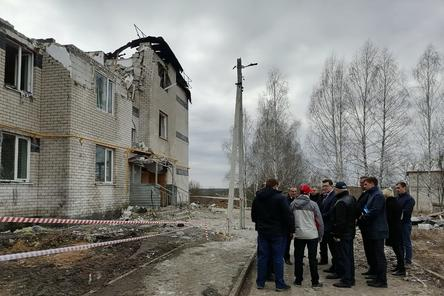 Пострадавший от взрыва газа дом в Дальнеконстантиновском районе восстановлению не подлежит