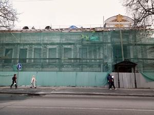 Дополнительных рабочих направят на восстановление Литературного музея Горького