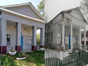 Нижегородцы раскритиковали ремонт фасада ДК в Щепачихе