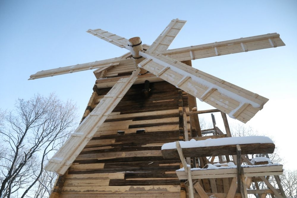 Мельницу толчею-столбовку отреставрировали на Щелоковском хуторе - фото 1
