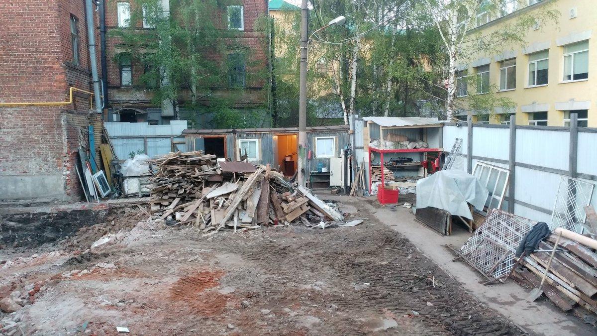 В Нижнем Новгороде снесли «Шахматный дом», чтобы отстроить его заново - фото 3