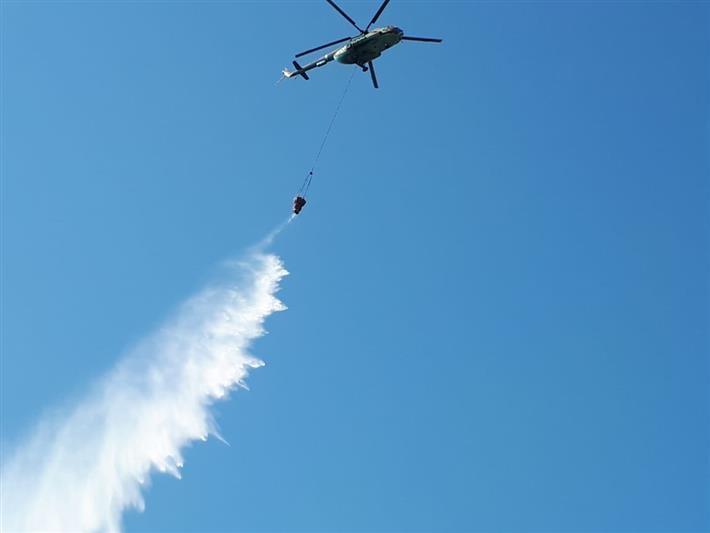 Авиацию Росгвардии привлекли для тушения лесных пожаров в Нижегородской области и Мордовии - фото 1