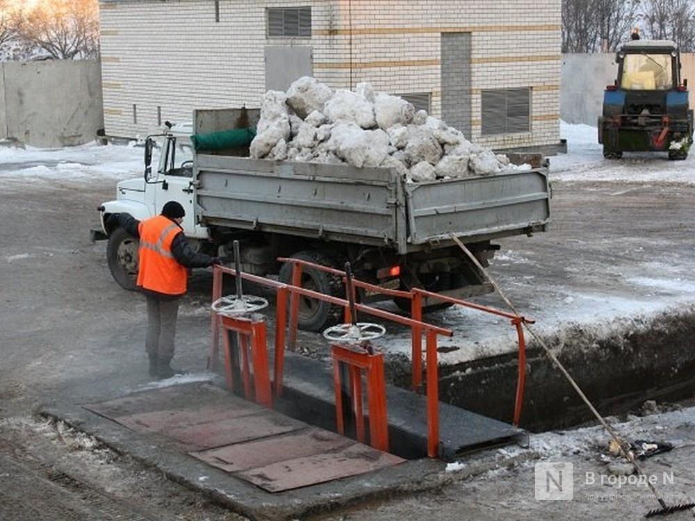 Станцию снеготаяния в Нижегородском районе построят по концессии почти за 104 млн рублей - фото 1