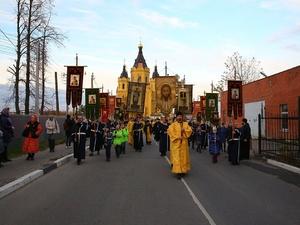 Ковчег с мощами святителя Луки прибыл в Нижний Новгород