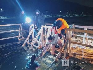 Крещенские купания прошли в Нижнем Новгороде