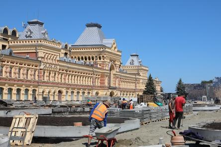 Фонтан у Главного ярмарочного дома восстановят к юбилею Нижнего Новгорода