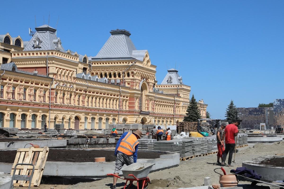 Фонтан у Главного ярмарочного дома восстановят к юбилею Нижнего Новгорода - фото 1