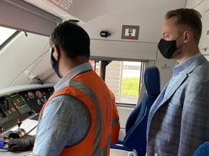 Электрички между станциями «Починки» и «Варя» запустили в тестовом режиме в Нижнем Новгороде