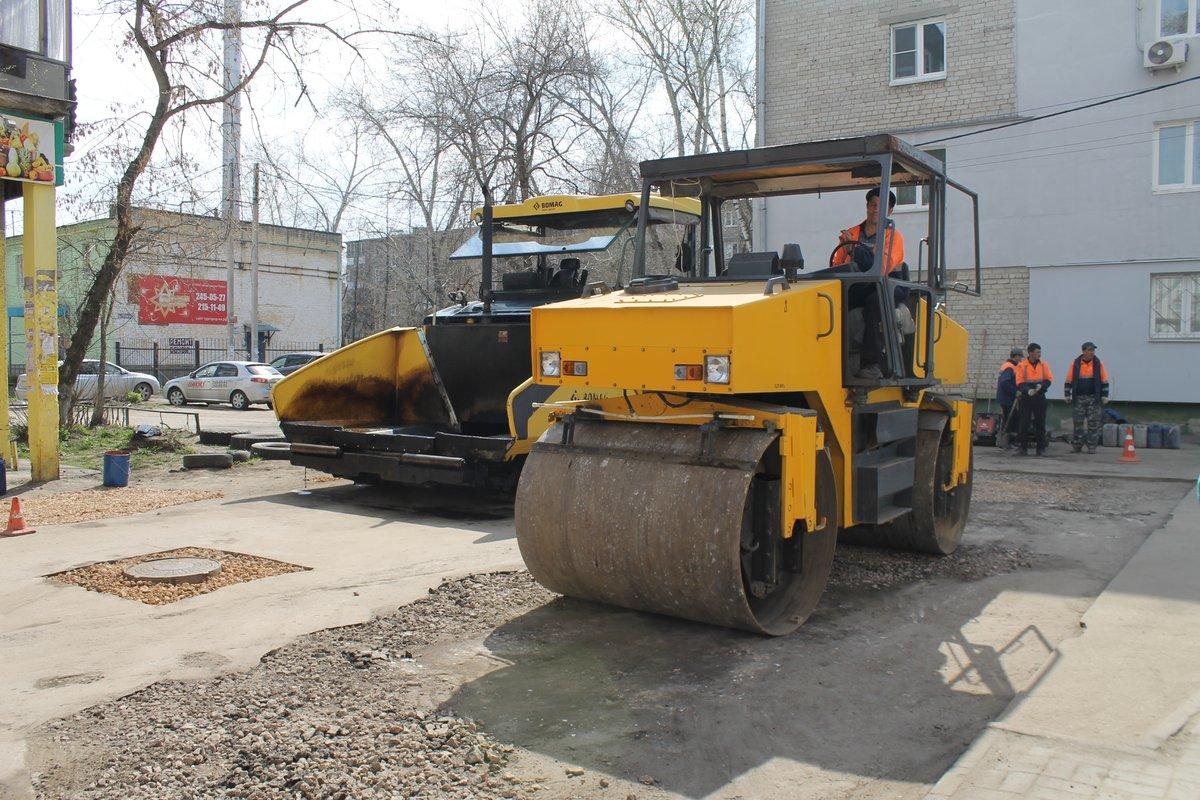Ремонт дворовых территорий стартовал в Советском районе - фото 1