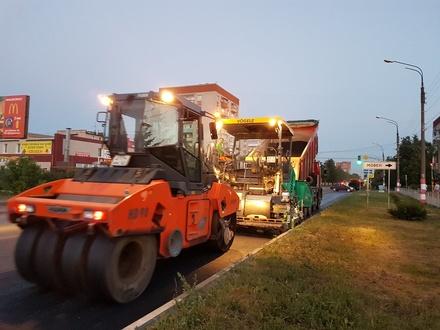 Еще четыре дороги отремонтировали в Дзержинске