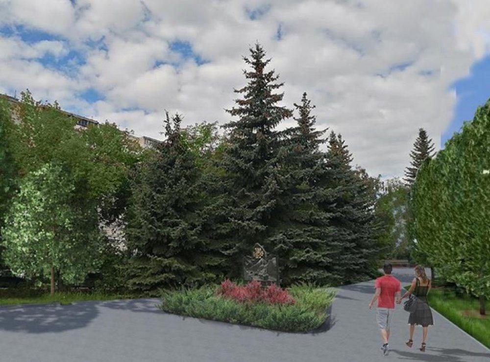 Прогулочная зона и новые клумбы появятся в сквере «Выставка цветов» в Московском районе - фото 1