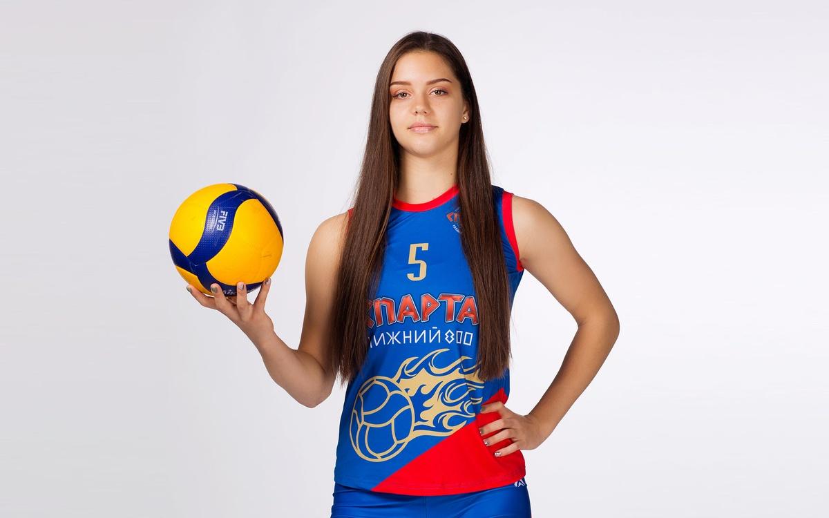 Светлана Гатина из нижегородской «Спарты» вызвана в сборную Россию по волейболу - фото 1