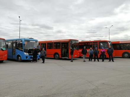 Самых виртуозных водителей автобусов выбрали в Нижнем Новгороде