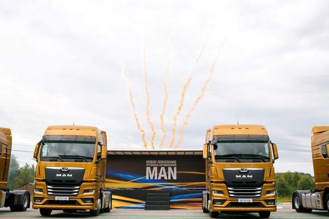 Немецкий лев в России: нижегородцам показали новые грузовики MAN - фото 1