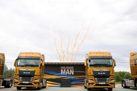 Немецкий лев в России: нижегородцам показали новые грузовики MAN