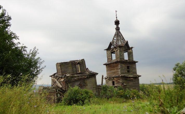 Что потеряли нижегородцы с сожжением древней церкви в Лысковском районе - фото 12