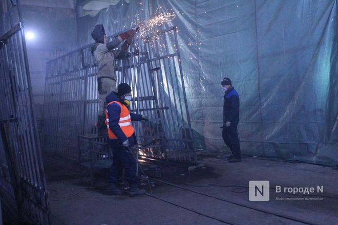 Как идет реставрация исторической ограды парка «Швейцария» - фото 47