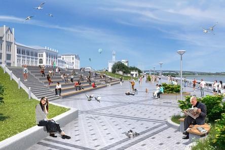 В честь открытия Нижне-Волжской набережной предложено устроить праздник