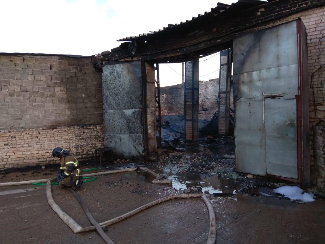 Пожар на складе в Дзержинске ликвидирован - фото 1