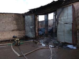Пожар на складе в Дзержинске ликвидирован