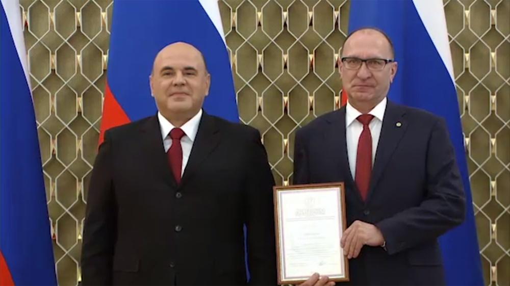 Ректор НГТУ получил премию правительства - фото 1