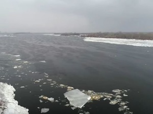 Ледоход на Волге наблюдали нижегородцы в последний день февраля