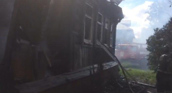 Уголовное дело возбуждено по факту гибели четырех человек на пожаре в Пильнинском районе - фото 2