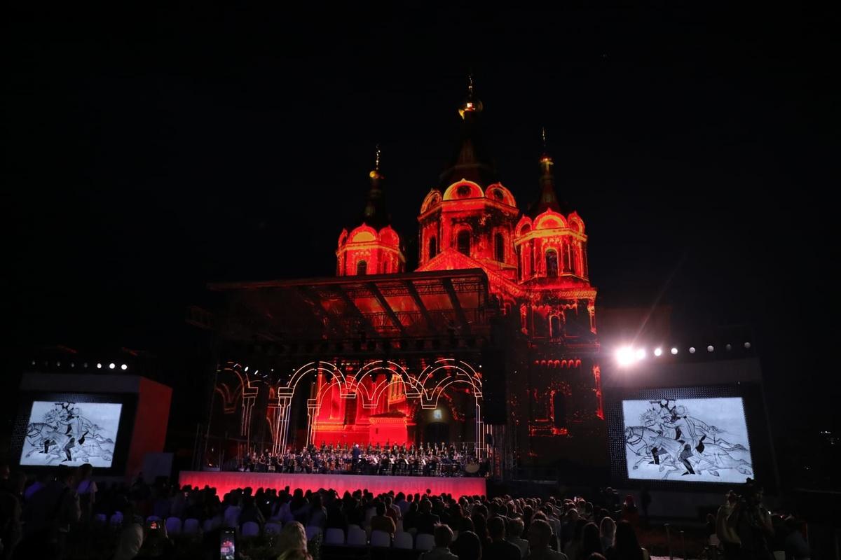 Кантата Прокофьева прозвучала у кафедрального собора в Нижнем Новгороде - фото 1