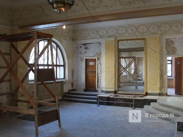Единство двух эпох: как идет реставрация нижегородского Дворца творчества - фото 53
