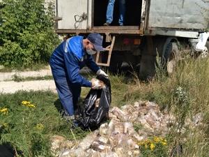 Производитель ликвидировал хлебную свалку в Дзержинске