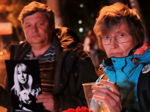 Защитники парка «Швейцария» посвятили 12-ю «живую цепь» Ирине Славиной