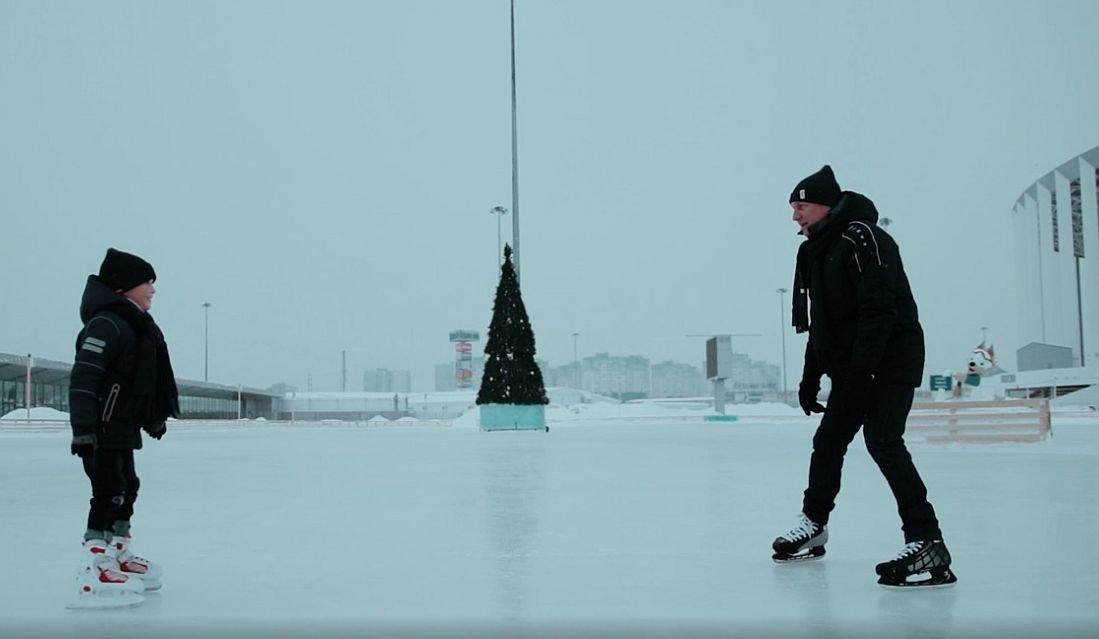 Ролик о вере в чудо сняли на катке «Зимняя сказка» в Нижнем Новгороде  - фото 1