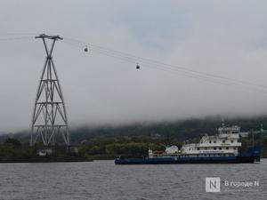 Работа канатной дороги временно приостановлена в Нижнем Новгороде