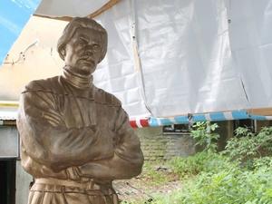 Памятник Максиму Горькому восстановлен в Нижнем Новгороде (ФОТО)