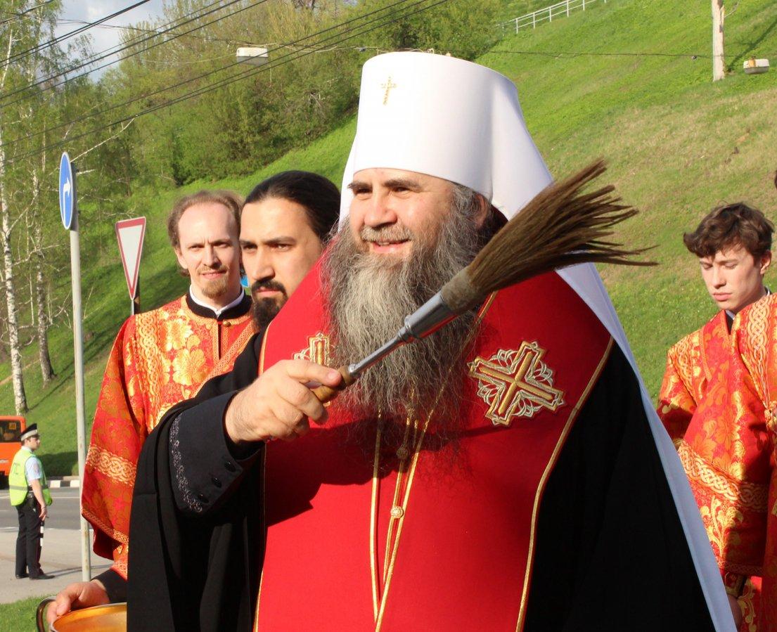 Памятник митрополиту Николаю появился в Нижнем Новгороде - фото 4