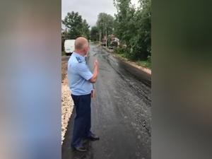 Администрация Семенова отреагировала на видео от прокурора про плохую дорогу
