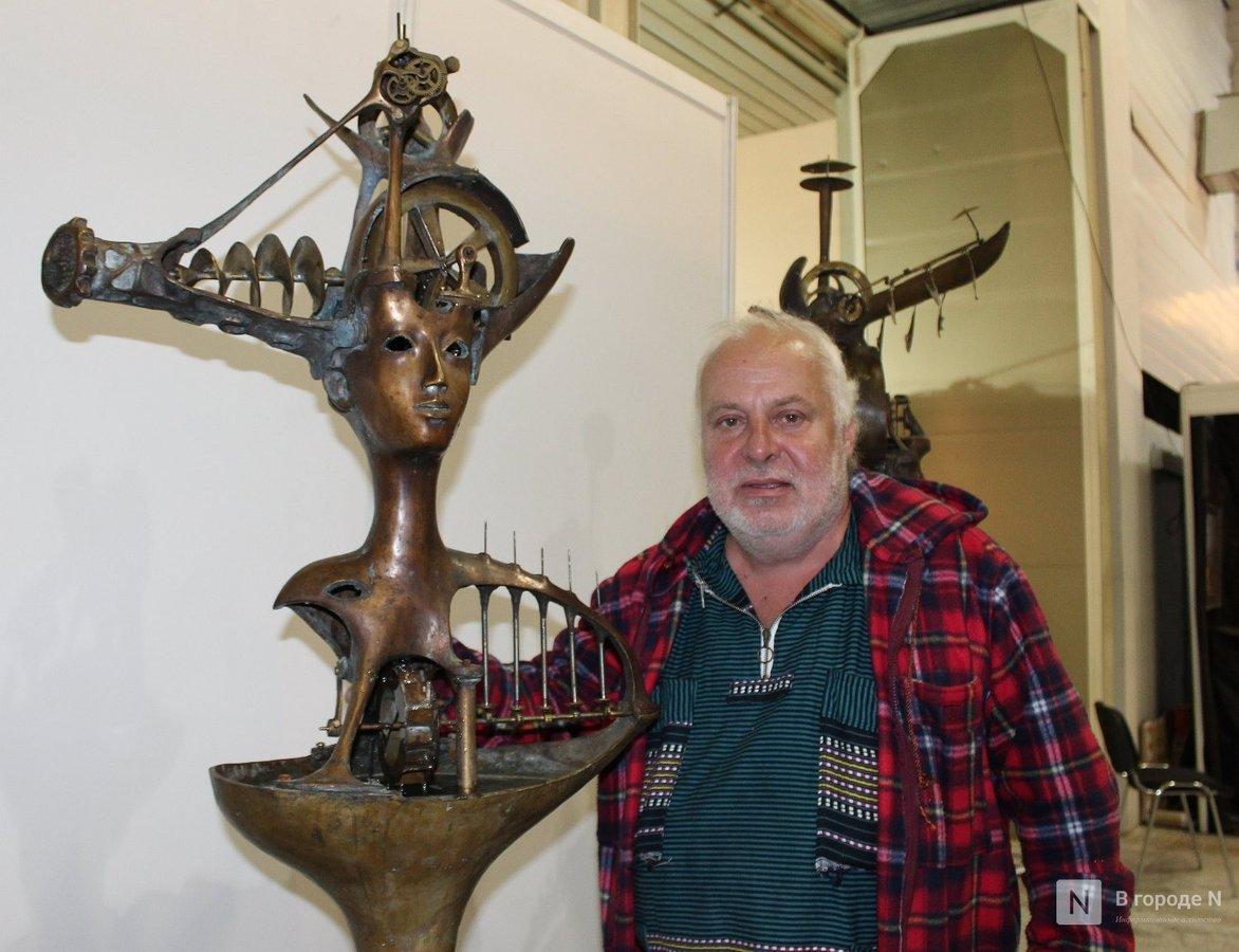 Творчество чистой воды: движущиеся скульптуры прибыли в Нижний Новгород - фото 1