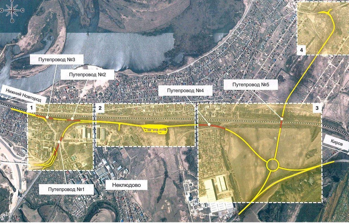 В Нижегородской области началось строительство дороги Неклюдово – Золотово - фото 3