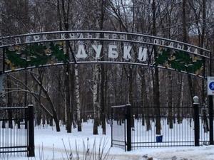 Благоустройство парка «Дубки» планируется начать в июне