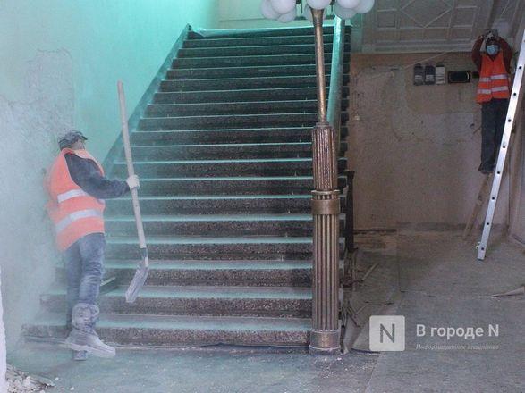 Единство двух эпох: как идет реставрация нижегородского Дворца творчества - фото 40