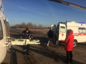 Девочку с ножевым ранением экстренно доставили в нижегородскую областную клиническую больницу