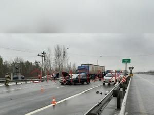 Пять машин сошлись в ДТП на Южном обходе