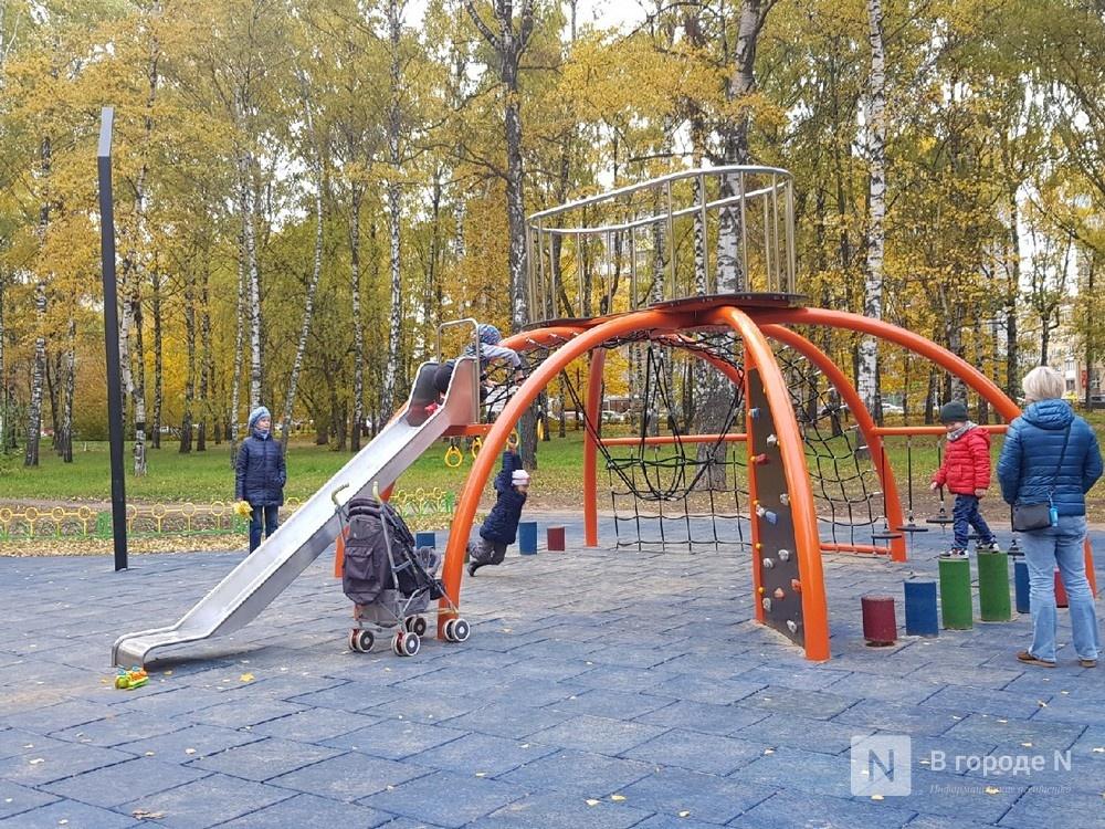 Посещение детских площадок и парков запретили в Нижегородской области