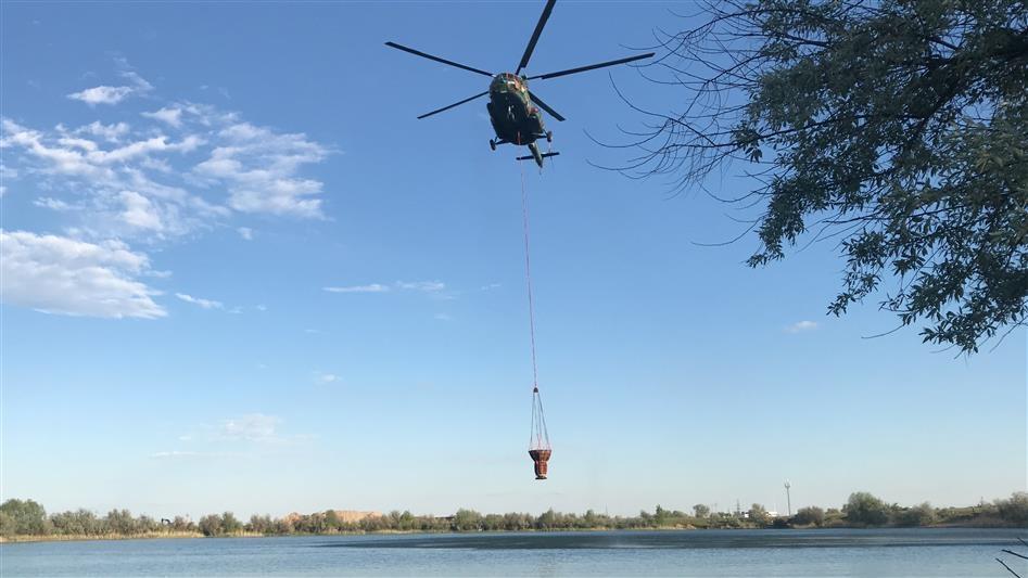 Росгвардейцы отправились на тушение пожара в Мордовском заповеднике - фото 2