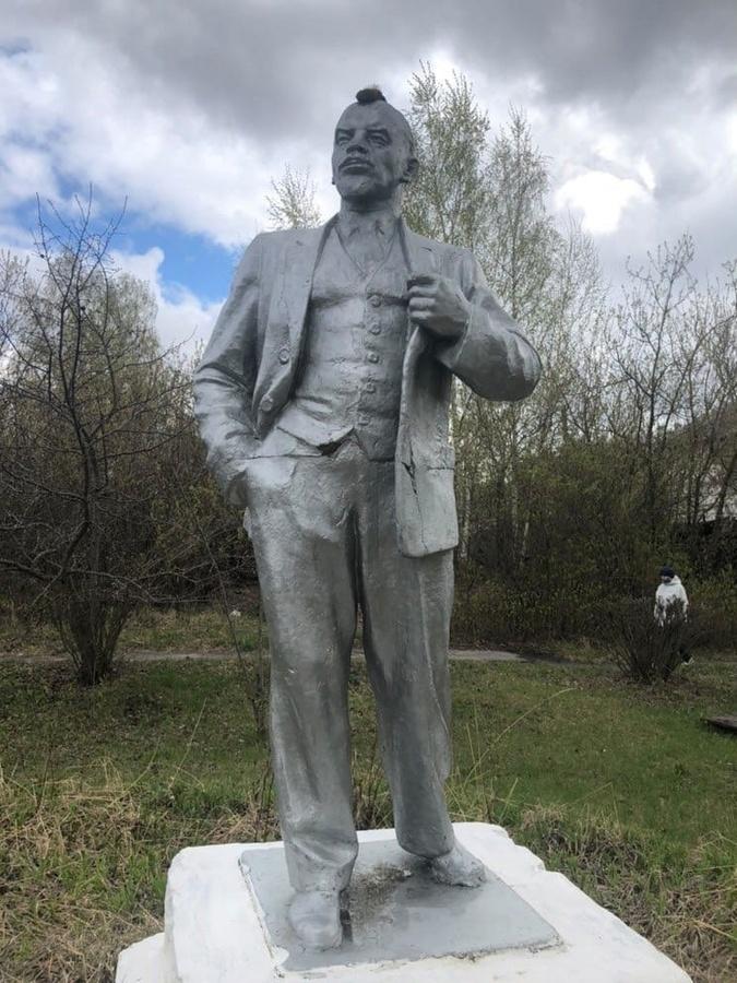 Ленина с ирокезом сфотографировал житель Бора - фото 1
