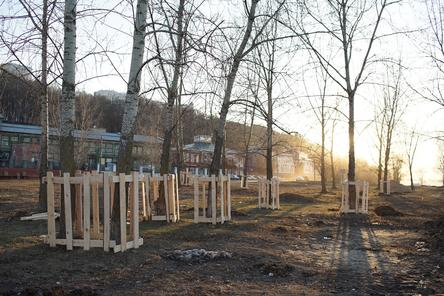 Благоустройство набережной Гребного канала стартовало в Нижнем Новгороде