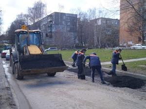 Ямочный ремонт завершили на трех улицах Приокского района