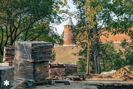 Почаинскую улицу ремонтируют к 800-летию Нижнего Новгорода